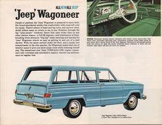 Willys 1963 Wagoneer Jeep Sales Brochure