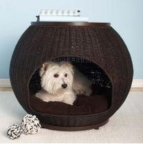 犬猫兼用ペットハウス★サイドテーブルとしても使用可能