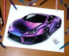 Lamborghini huracan - SadekBell - Draw to Drive