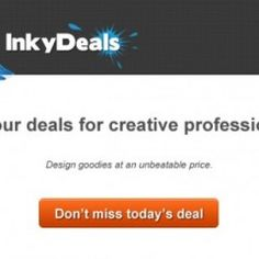 Daily design deals and  bundles with up to 99% discount