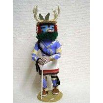 Antique Native American Hopi Carved Deer Dancer Katsina Doll