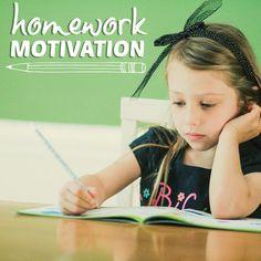 Daily Mom » Homework Motivation