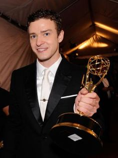 Ten Reasons Why Justin Timberlake Is On Top of the World: September 18, 2011 - Two Emmy Awards