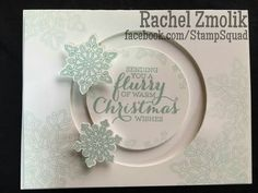 I have been playing around with spinner cards using the new Shooting Star / Sliding Star bundle from Stampin Up! I had never heard of spin...