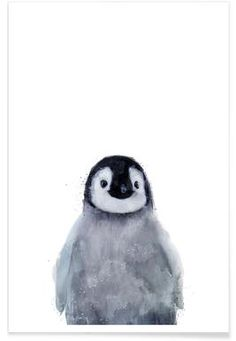 Little Penguin - Amy Hamilton - Premium poster