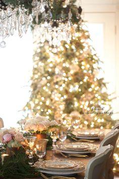 On The Table~ Natale Christmas table setting