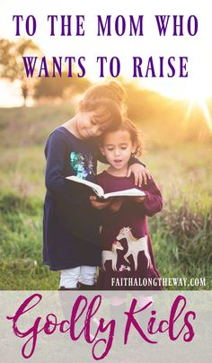 Mama, do you long to raise godly kids who love the Lord? Don't miss this encouragement and practical tips for Christian living.