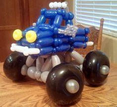 #balloon #monster #truck #balloon #art #sculptures #twist #characters