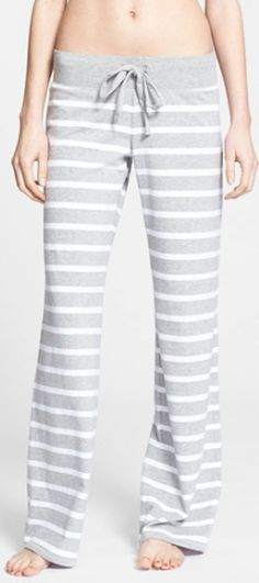 comfy #grey striped pj bottoms http://rstyle.me/n/k8swzr9te
