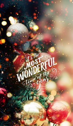 Save and set merry christmas wallpaper, christmas lockscreen, merry christmas background, christmas phone Christmas Mood, Noel Christmas, Merry Little Christmas, Christmas Bulbs, Christmas Wreaths, Merry Christmas Pictures, Classy Christmas, Magic Of Christmas, Merry Christmas Quotes Love