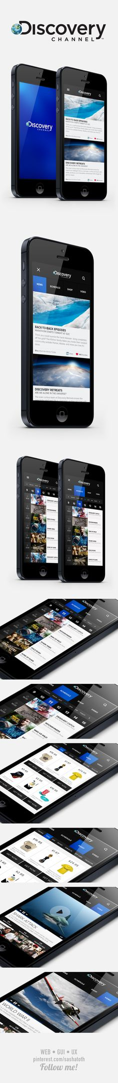 Discovery Channel re-design Concept by Enes Danıs on Behance
