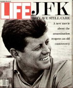 """""""JFK, Why We Still Care"""", 1991  Because he was a family man and the President of the United States. Even though he wasn't perfect. He's human!"""