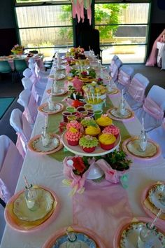 All party tables should look like this!