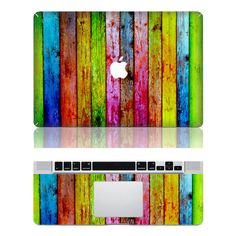 Woodgrain  Macbook Protective Decals Stickers Mac by idealdecal, $16.80
