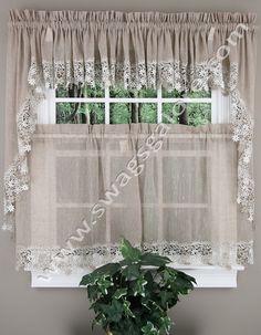 Lillian Curtains - Linen