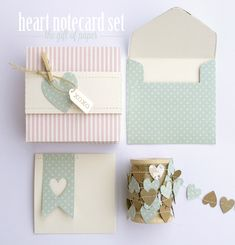 Silhouette Blog: Valentine's Gift Idea : Notecard Set