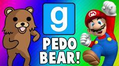 Gmod Escape PedoBear - Super Mario Tryout Frustration (Garry's Mod Funny Moments