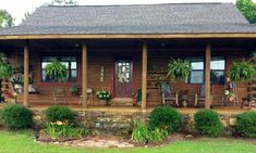 Cabin with killer porch