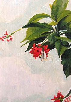 Emily Jeffords oil painting... as I dream of spring