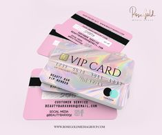 discount card design Credit Card Styled Discount Card , Holographic Business Card , DIGITAL file, edit in your browser by RoseGoldMediaGroup on Etsy Beauty Business Cards, Cute Business Cards, Salon Business Cards, Esthetician Room, Vip Card, Card Card, Lash Room, Credit Card Design, Plastic Card