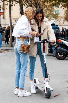 online retailer a8b70 2d3c4 Street style à la Fashion Week printemps-été 2019 de Paris