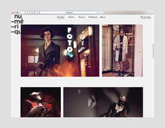 Numerique website #okcs #webdesign #web #graphicdesign