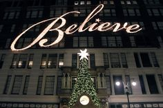 "Capital Contracting & Design, Inc. » Macy's ""Believe"" exterior"