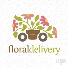 flower delivery | StockLogos.com