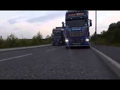 The shortest of short videos! Scania R730 lit up and sounding good.