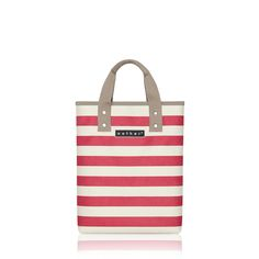 nother Horizontal Stripe Book Bag (Red)