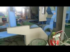 scouring pad material production line