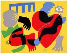Música II - José de Guimarães Artists For Kids, Superhero Logos, Surrealism, Art Deco, Tapestry, Sculpture, Fine Art, Illustration, Museum