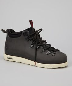 Take a look at this Jiffy Black Fitzsimmons All-Terrain Shoe by Native on #zulily today!