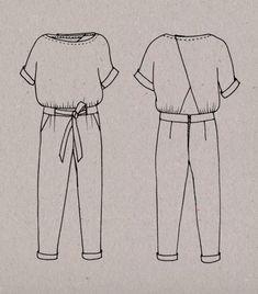 10 patrons pour coudre une combinaison pantalon | LOUISE