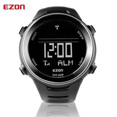 EZON Multi-functional Sport Watch Men Watches Top Brand Outdoor Running Sport Watches for Men 5ATM Waterproof Male Wristwatch