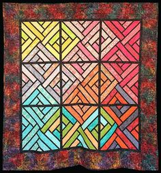 Fracture Paint Box, Quiltworx.com, Made by CI Eileen Urbanek.