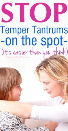 """These surprisingly simple ideas will help you regain control of a situation, while allowing your kids to feel validated and heard. Stop temper tantrums from escalating with this positive parenting approach where """"less is more."""""""