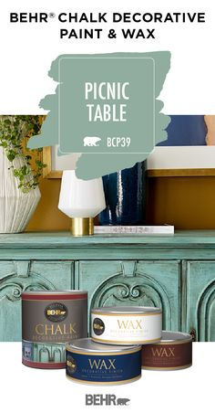 BEHRⓇ Chalk Decorati