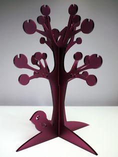 acrylic jewelry tree on etsy