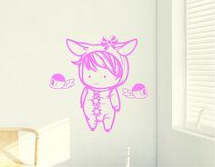 Vinilo de temática infantil con un diseño pensado y desarrollado para ambientar y convertir la habitación de tu bebé en una espacio conforta...