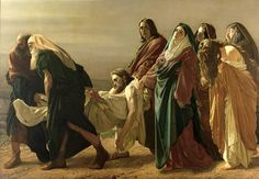 The Entombment, 1883 Painting by Antonio Ciseri