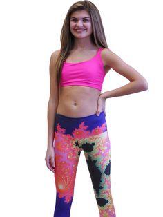 Om Shanti Clothing - Fractal Spiral Legging