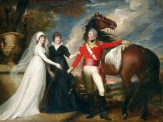 "John Singleton Copley, ""Colonel William Fitch and His Sisters Sarah and Ann Fitch,"" 1800/1801, oil on canvas, National Gallery of Art, Washington, Gift of Eleanor Lothrop, Gordon Abbott, and Katharine A. Batchelder"