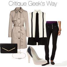 SPN Fashion - Critique Geek's Castiel inspired look
