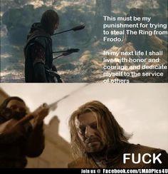 Boromir -> Ned