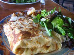 Andouille and Potato Crepes Recipe : Andouille and Potato Crepes