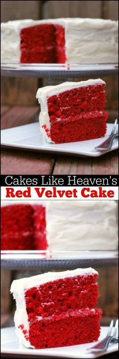 TOP SECRET RECIPE ALERT!!! This Red Velvet Cake is from the AMAZING Cakes Like Heavens Bakery in Madison, Alabama.  It is THE MOST amazing cake you will ever put in your mouth!  We have ordered from this bakery EVERY holiday and they are finally sharing t