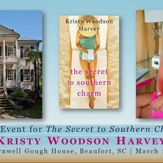 Y'all, I am SO excited! The incredible @patconroyliterarycenter is hosting the  launch party for THE SECRET TO SOUTHERN CHARM on March 15 (2.5 weeks before the actual release!) at the gorgeous Elizabeth Barnwell Gough House in Beaufort, SC. It's going to be a fabulous party (obviously!) raising money for an incredible cause. Come join us! Tickets available here: https://m.bpt.me/event/3211119 #patconroyliterarycenter #southerncharm #thesecrettosoutherncharm #booklaunch #launchparty…