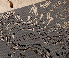 Gavin Rajah Fashion Week Invites | Creating a Storm