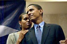 President Barak Obama With 1st Lady Michelle Obama.....  2004